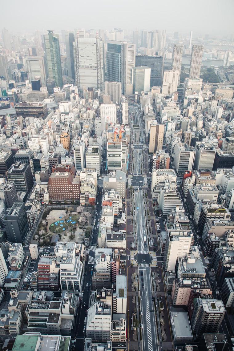 Andaz Tokyo view - Tokyo itinerary 7 days