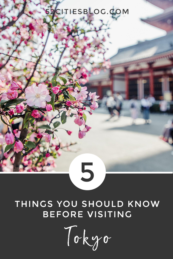 5 Tokyo travel tips