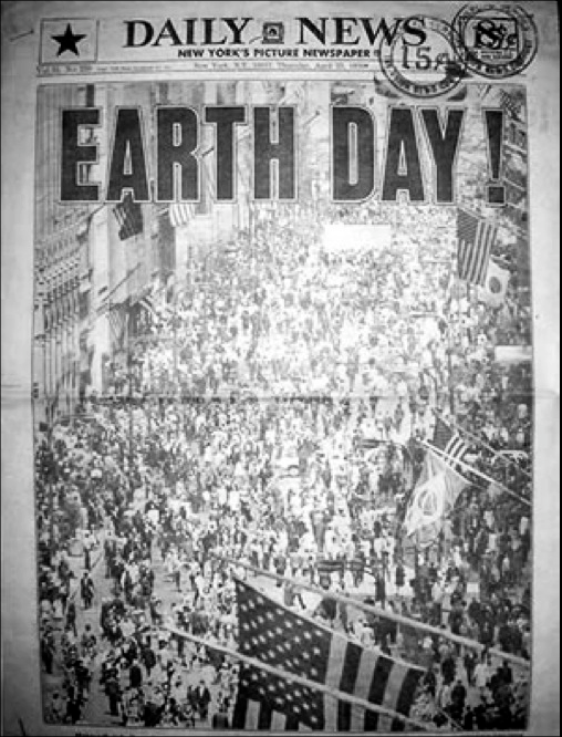 Image result for 1970- 1st Earth Day