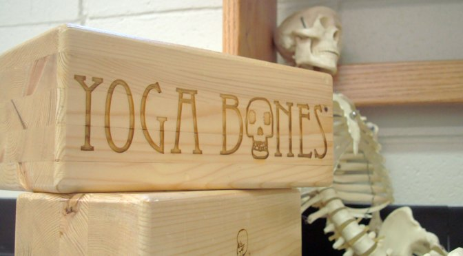09: Etched Yoga Blocks at Aurora Yoga Center