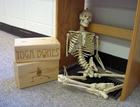 Don't be like this guy - keep your arms and legs attached and go to yoga!