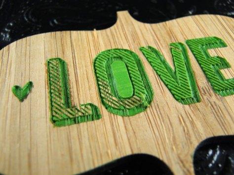 Love peeled