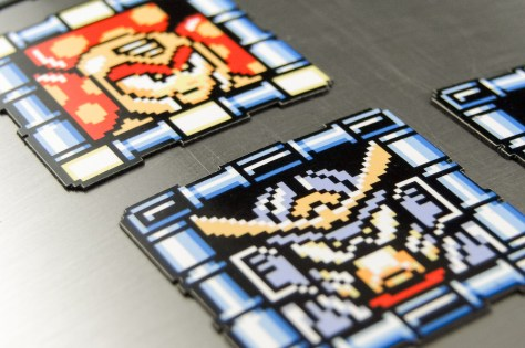Each game features a different frame shape; they're laser cut faithfully.