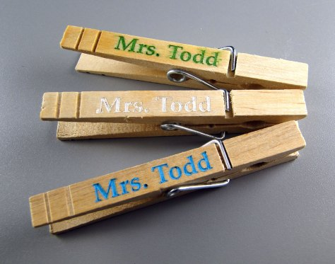 Trio of Mrs. Todds