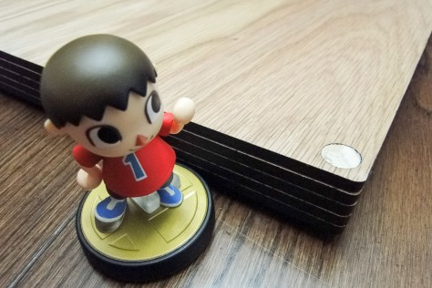 Villager reveals the dowel rod's secret power of alignment.