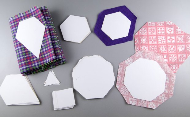 Jewel shape, mini triangles, hexagons, octagons and squares!