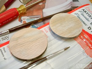 Post filled and sanded disks. They are amazingly smooth!