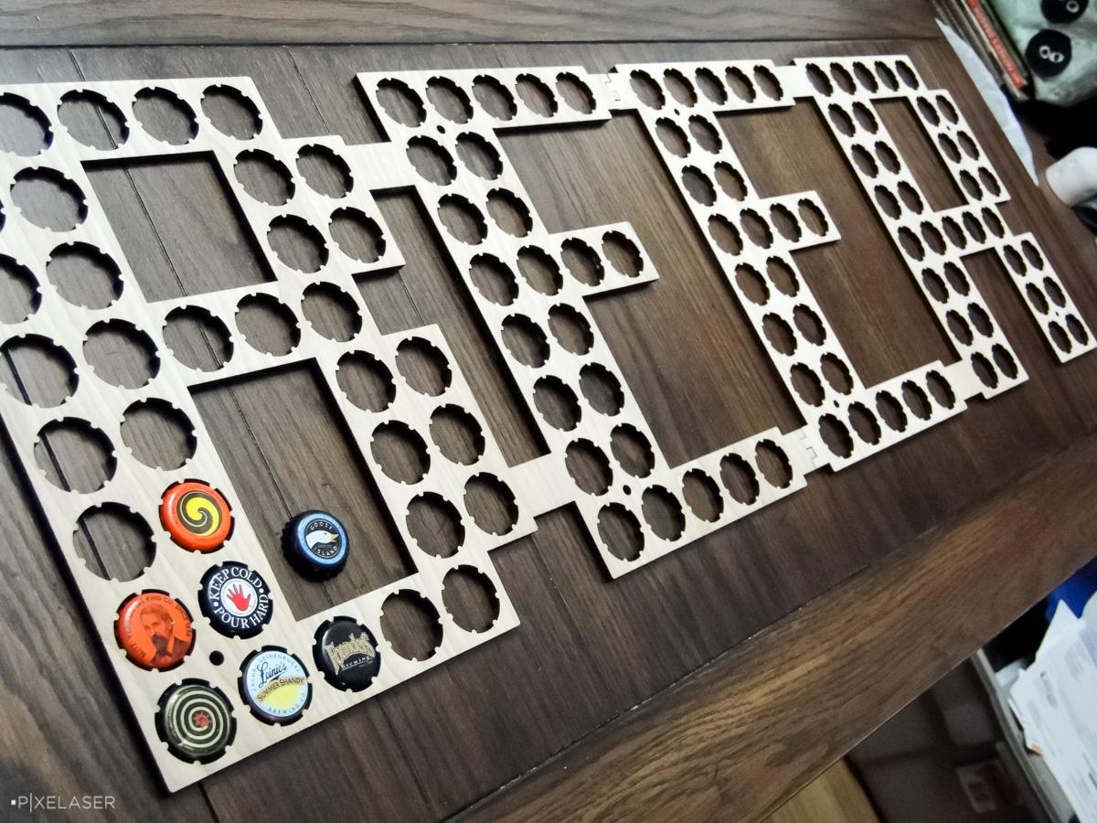 111: Bottlecap Sign