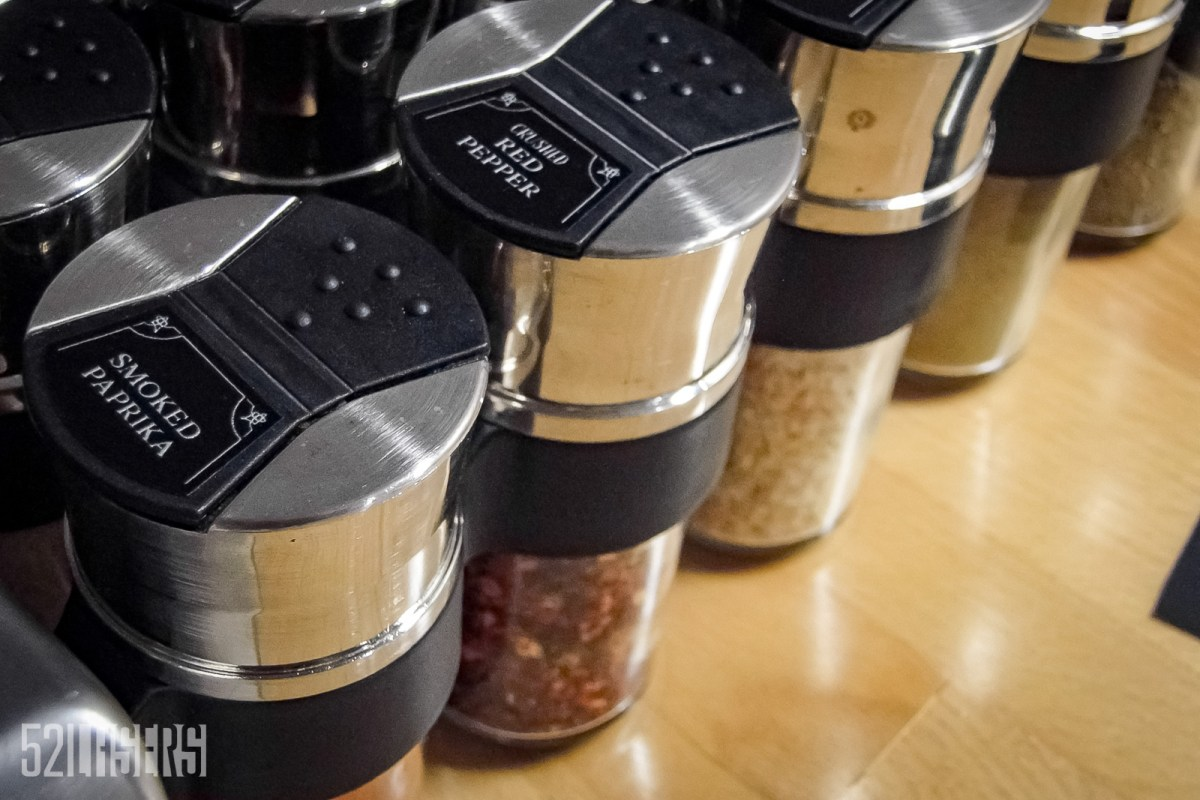 125: Spice Rack Labels