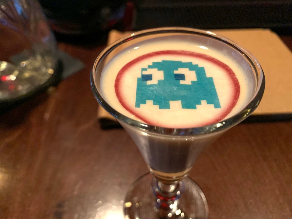 tiny cocktails at chug club