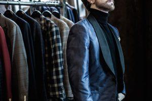 Turtleneck and jacket