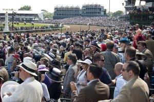 Kentucky Derby crowd
