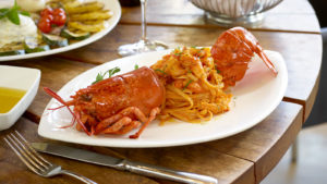 Estiatorio Milos lobster pasta