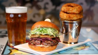 Find a beer you love with your Billionaire Burger from Holsteins.