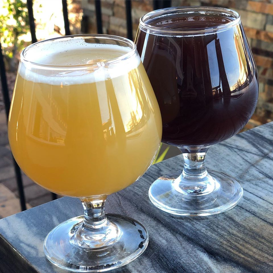 Enjoy a brew from 595 Craft & Kitchen