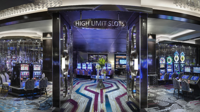 high limit slot lounge in las vegas