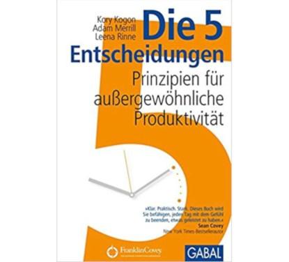 Die 5 Entscheidungen Buchcover