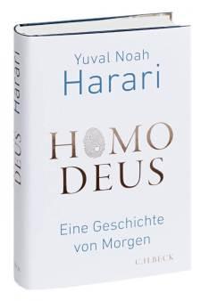 Homo Deus - Eine Geschichte von Morgen - Buchcover