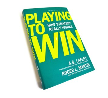 Playing to win - Buchcover