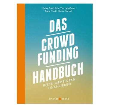 Buchcover Das Crowdfunding-Handbuch