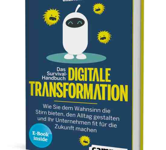 Buchcover Survival Handbuch - Digitale Transformation