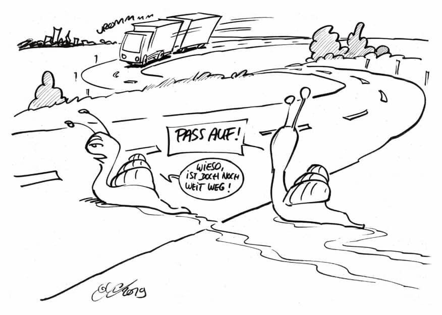 Strategie und Einbindung 3_Karikatur_Wirksame Change-Impulse