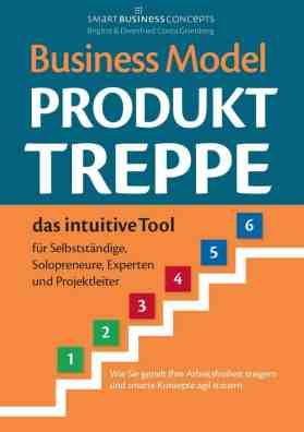 Buchcover - Business Model Produkt Treppe