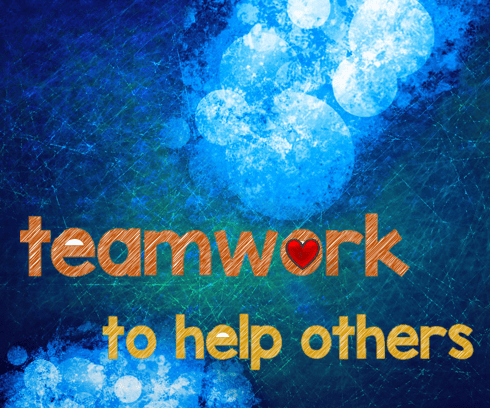 teamwork to help others