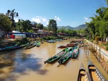 A Village at Inle
