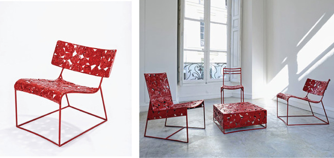 Modern African furniture design by Cheick Diallo