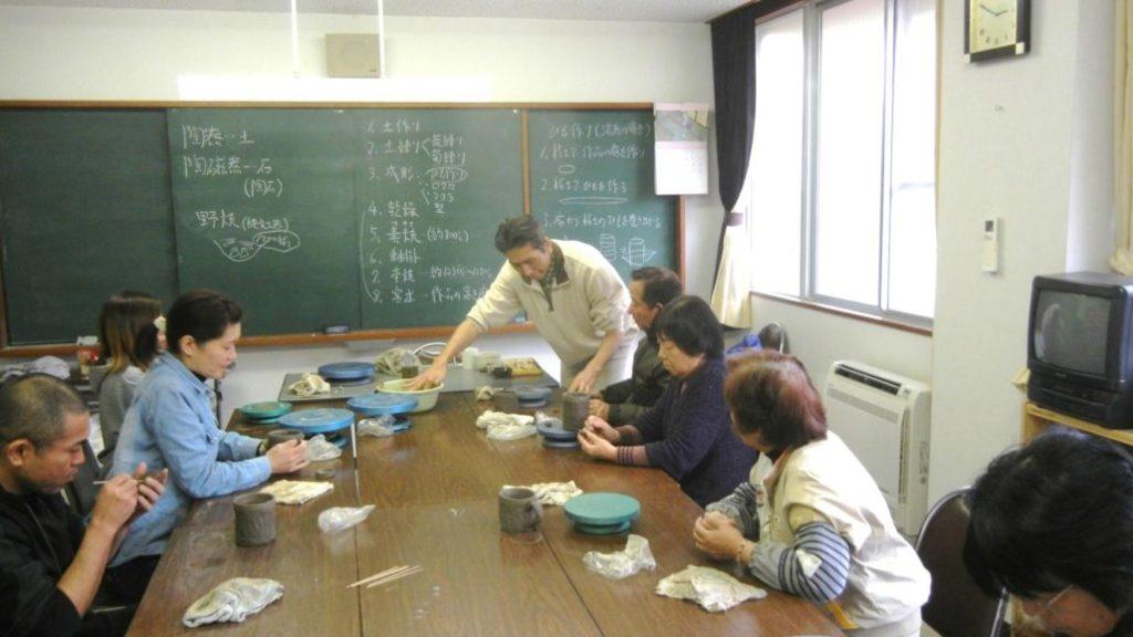 沖山先生の陶芸教室 @ 大柿厚生文化センター