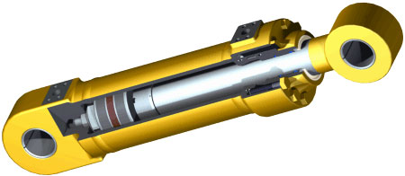 how do hydraulic cylinders