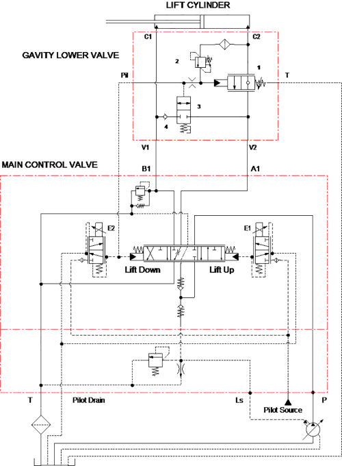 small resolution of jlg hydraulics schematic