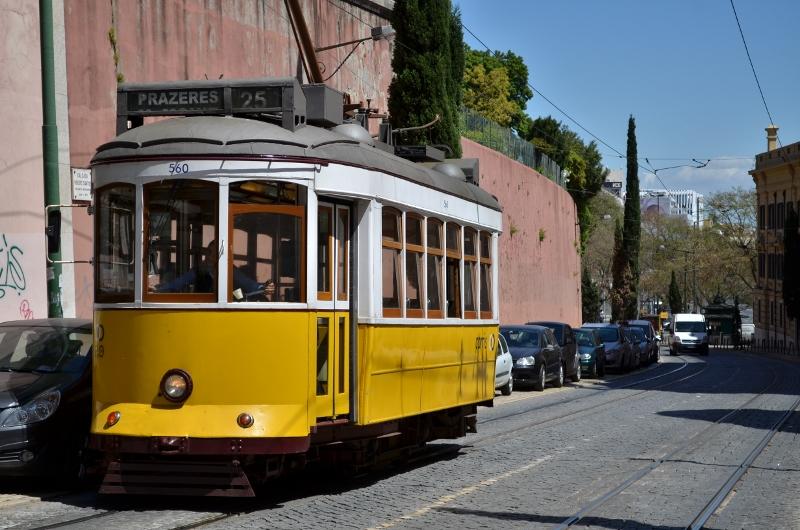 Lisbonne le tram 25e