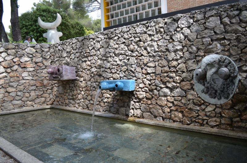 Une fontaine pour enfants
