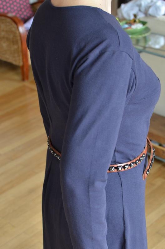 La robe de profil