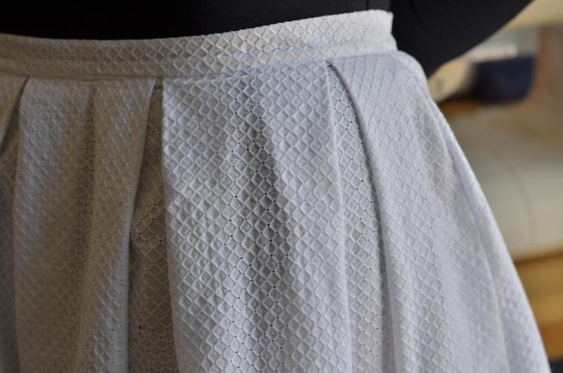 Zoom sur les plis