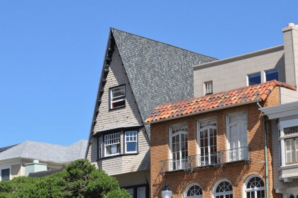 Extreme Pitched Roof