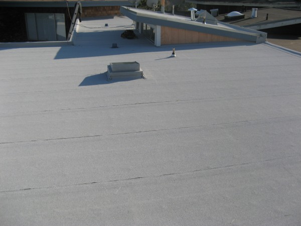 Completion of Re-roof