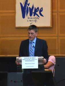 Discours de Mathieu Klein lors de son élection à la présidence du Conseil général de Meurthe-et-Moselle en avril 2014