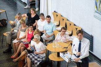 Présentation du projet départemental aux agents de la collectivité - juillet 2015