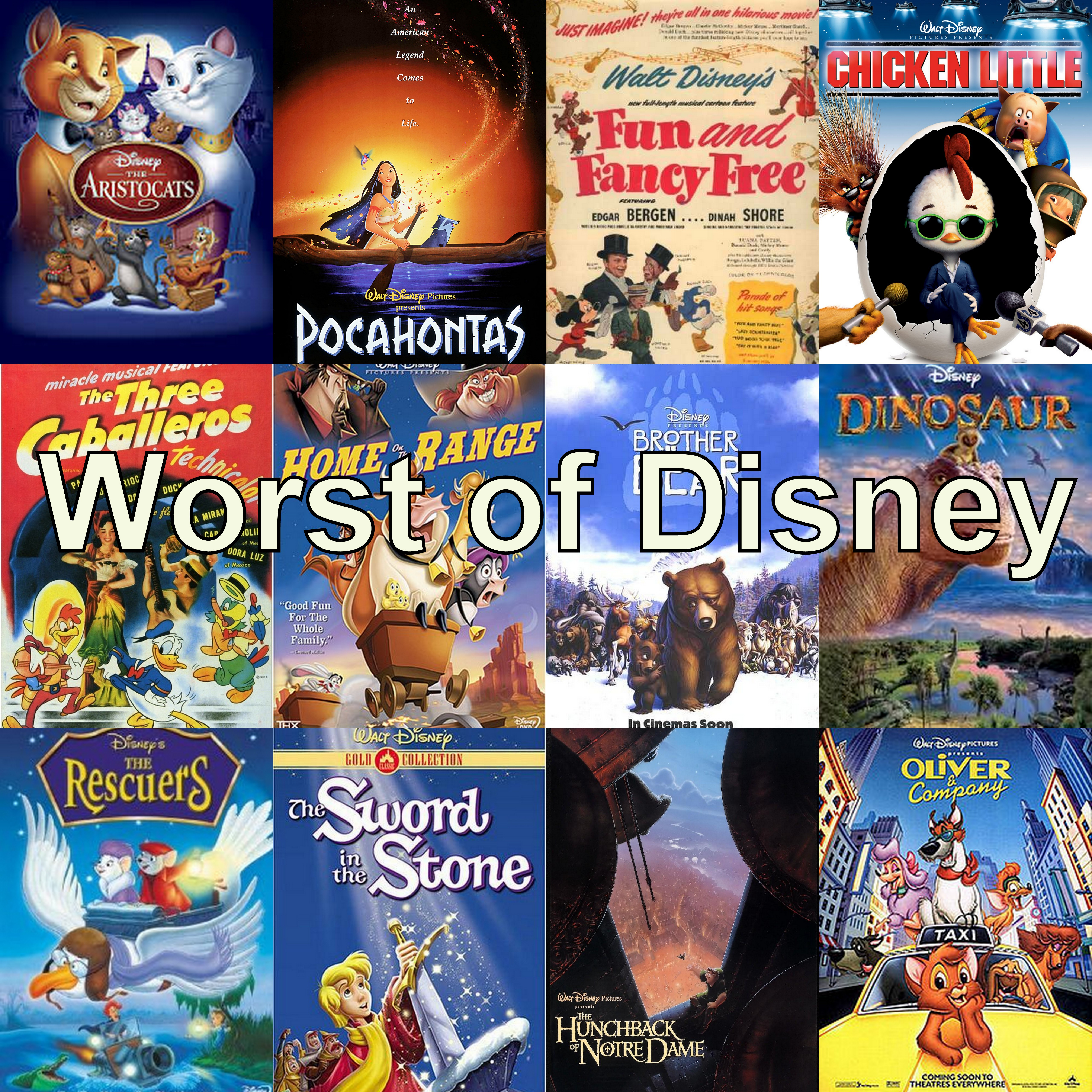 Chicken Little Reviewing All 56 Disney Animated Films