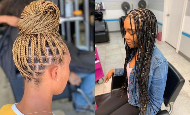 Knotless Braids – A revolutionary braiding method that everyone should wear