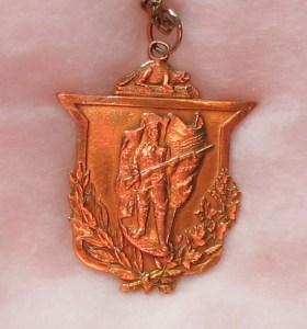 F.V. Webber WW1 Medal a