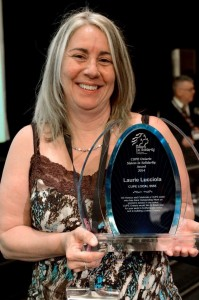 Laurie Lucciola Winner of sisters in solidarity award