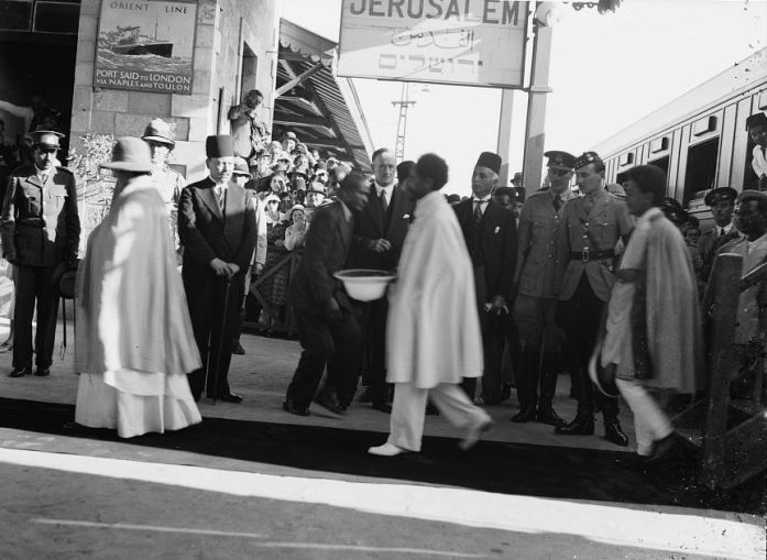SelassieInJerusalem