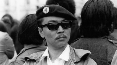"""Richard Aoki was known as the """"minister of education"""" for the Berkeley, Calif., chapter of the Black Panther Party."""
