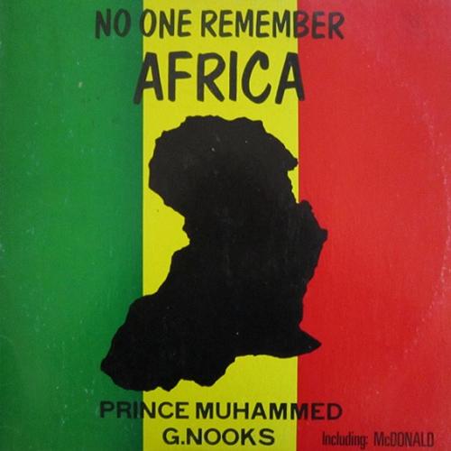 noonerememberafrica