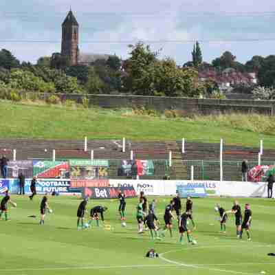 Football Nation 14/55 - Glentoran 1-1 Carrick Rangers - Northern Ireland