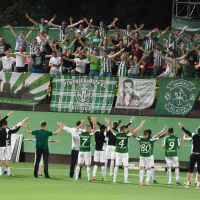 Football Nation 11/55 - Zalgiris Vilnius 5-0 Utenis Utena - Lithuania